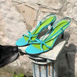 Vintage Ralph Lauren sandal heels, 10